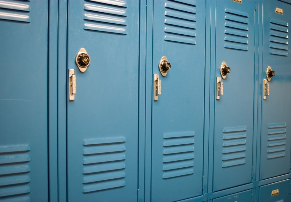 Social Distancing has closed lockers and doors at Del Val, but quality education continues online.