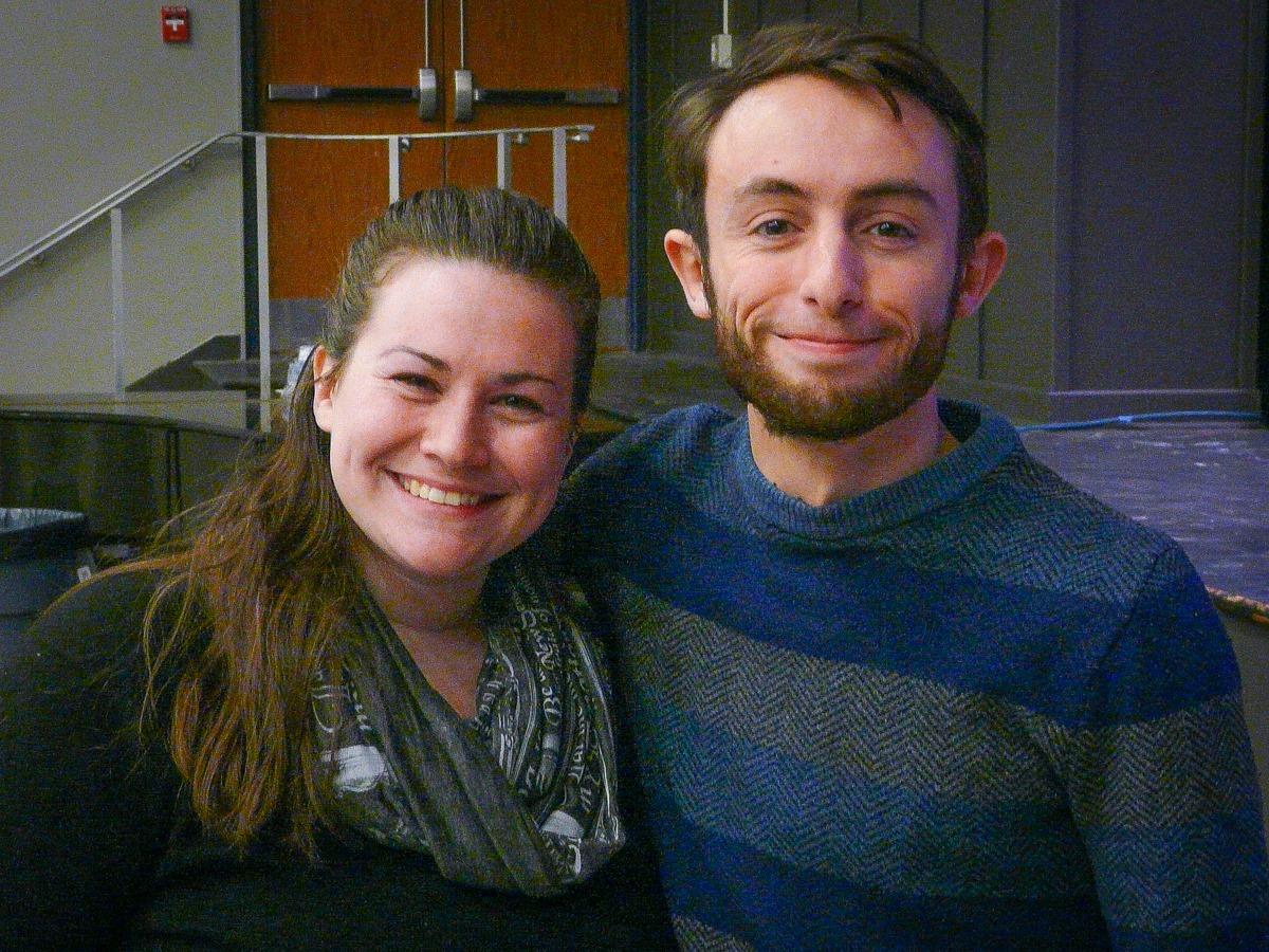 Miss Severns and Mr. Llabres: Fall Play Directors