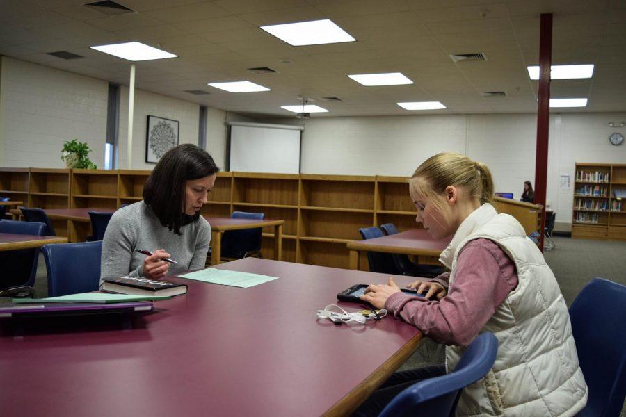Clare Erwin interviews Mrs. Miceli