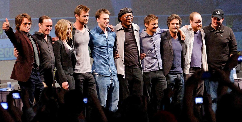 The Avengers Cast 2010