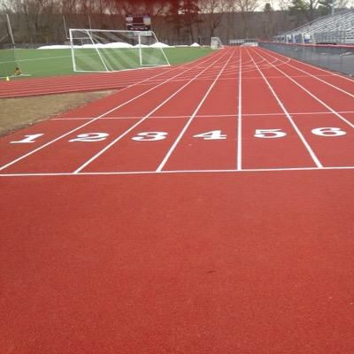 Delaware Valley Regional High School Track and Field Running Lanes