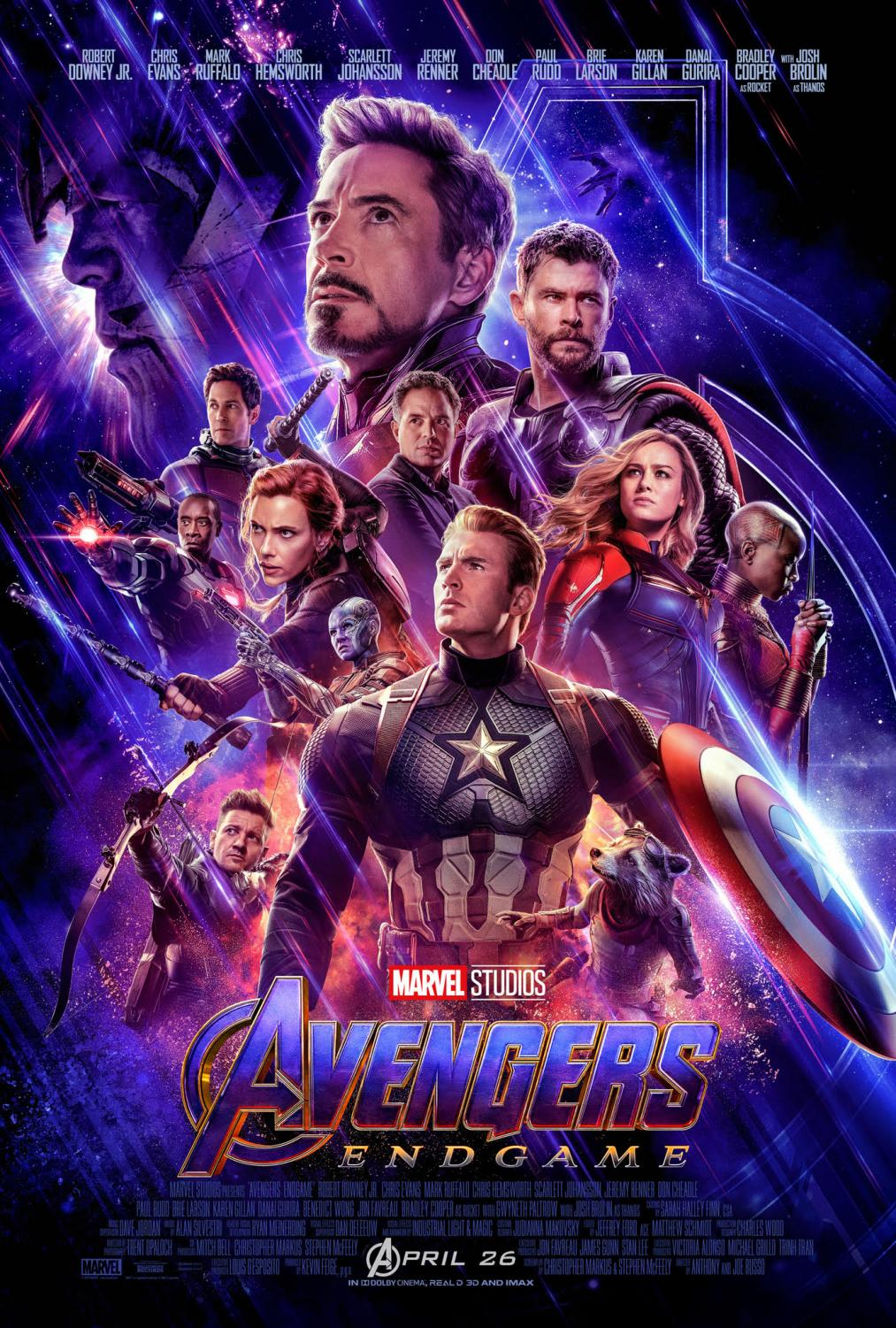 Avengers: Endgame breaks box office records on its opening weekend.