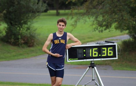 Kyle Reers breaks cross country record