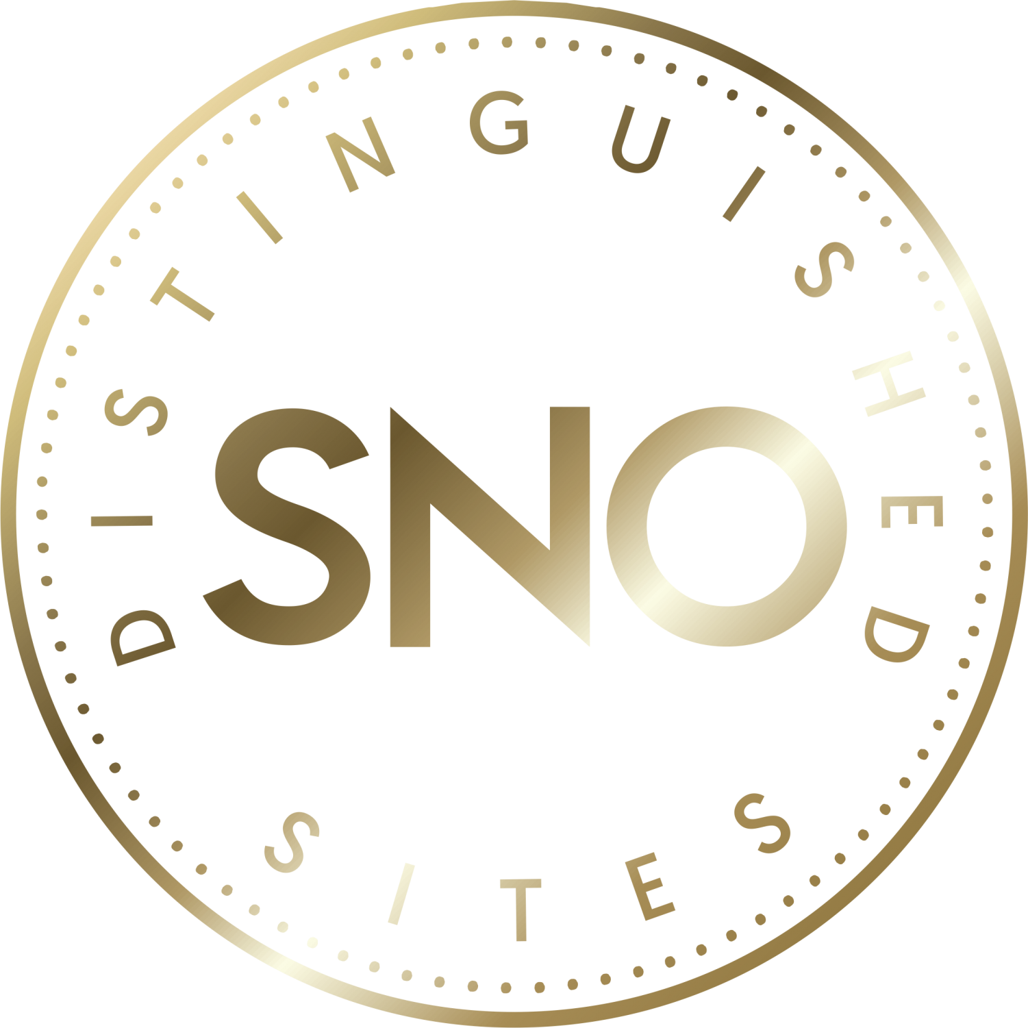 """The SNO """"Distinguished Sites"""" badge is awarded to the best newspapers on the SNO site"""