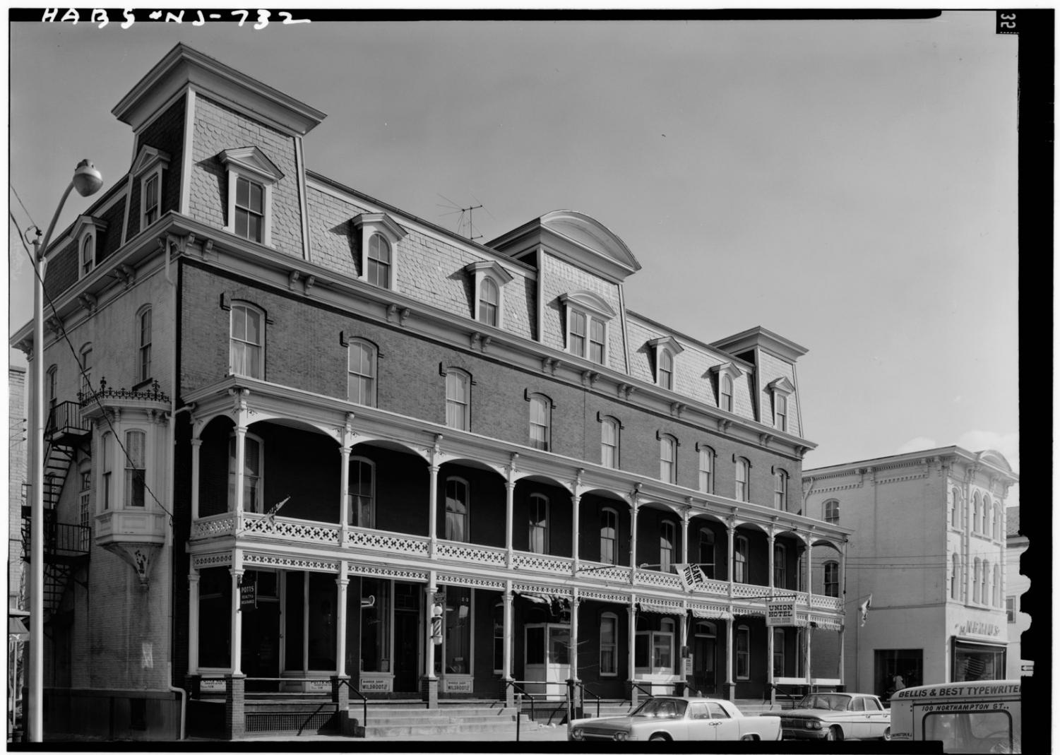 The Union Hotel in Flemington, NJ is potentially the site of paranormal activity