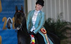 Senior equestrian Sarah Hecht earns national and world titles