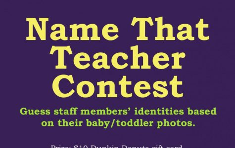 """Name That Teacher"" Contest"