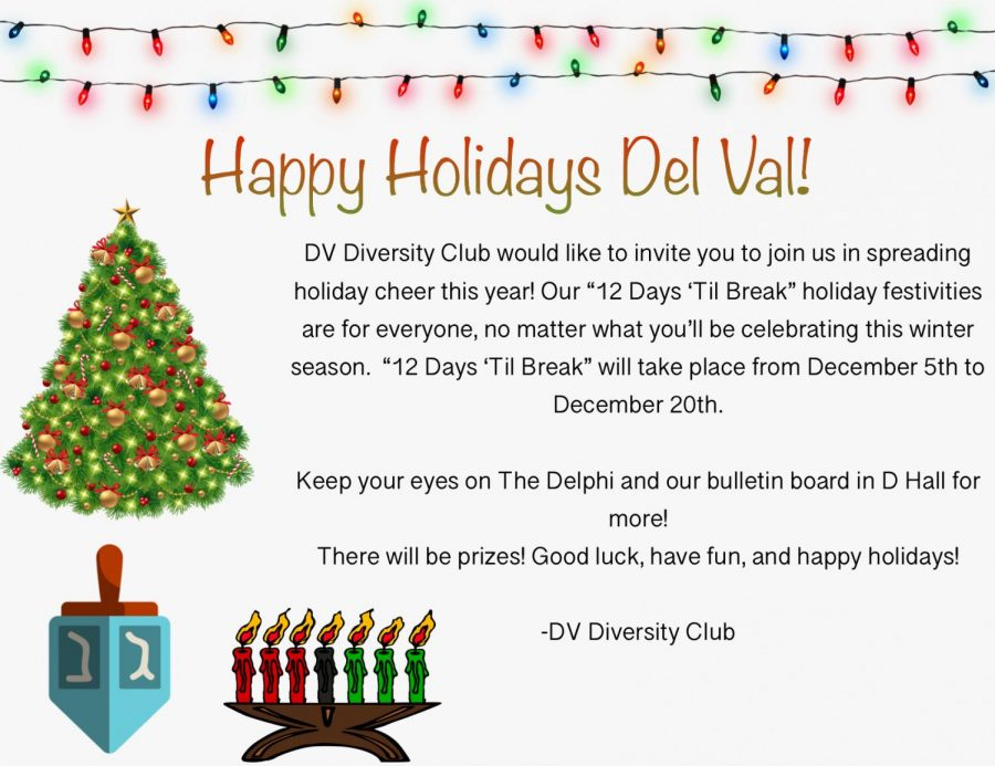 Diversity Club ugly sweater contest
