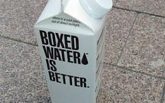 A water that thinks outside the box