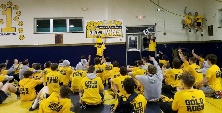 Del Val athletics has a tradition of winning, and these athletes should be compensated as they continue their athletic careers at college.