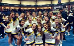 The DV Cheerleading Squad at the 2020 Nationals competition in Florida