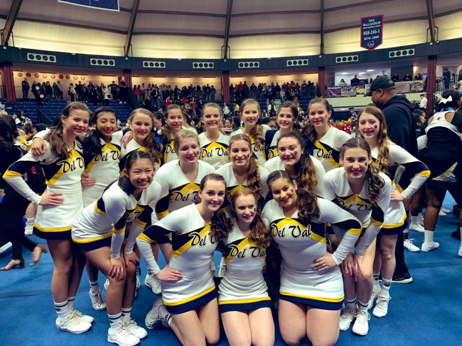 The+DV+Cheerleading+Squad+at+the+2020+Nationals+competition+in+Florida