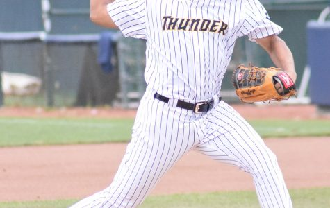 Trenton Thunder pitcher, Albert Abreu, helped lead the team to the 2019 Eastern League Title.
