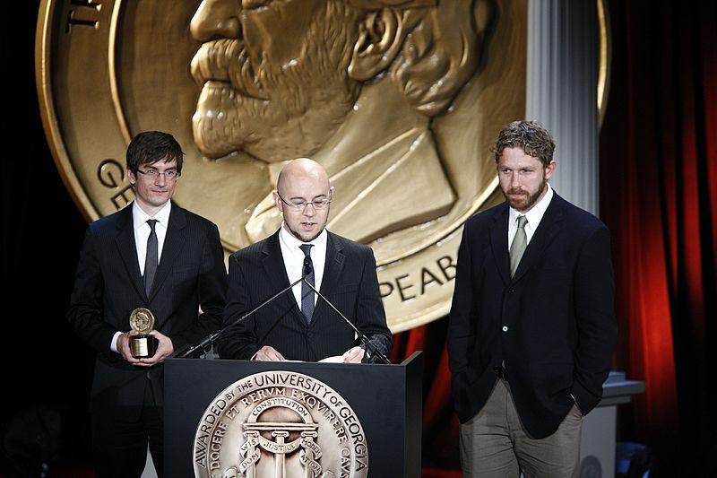 Michael Dante DiMartino, Bryan Konietzko and Aaron Ehasz 69th Annual Peabody Awards Luncheon (2010)