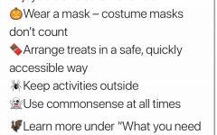 NJ Governor Phil Murphy's 10/29 tweet about safe Halloween celebrating protocols