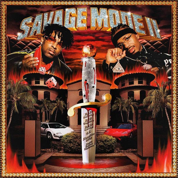 Savage 21 and Metro Boomin's new album, Savage Mode 2, topped the Billboard Top 200 charts.