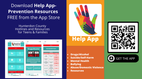 Scan the QR code above to download the Help App-Prevention Resources to your Apple or Android device.