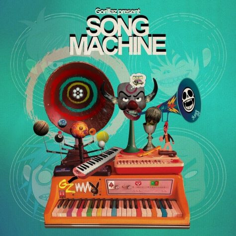 "Album cover for ""Song Machine"""