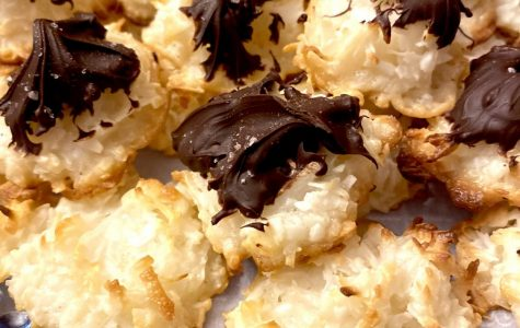 Mr. Farnsworth's Chocolate  & Pink  Himalayan Sea Salt Coconut Macaroons