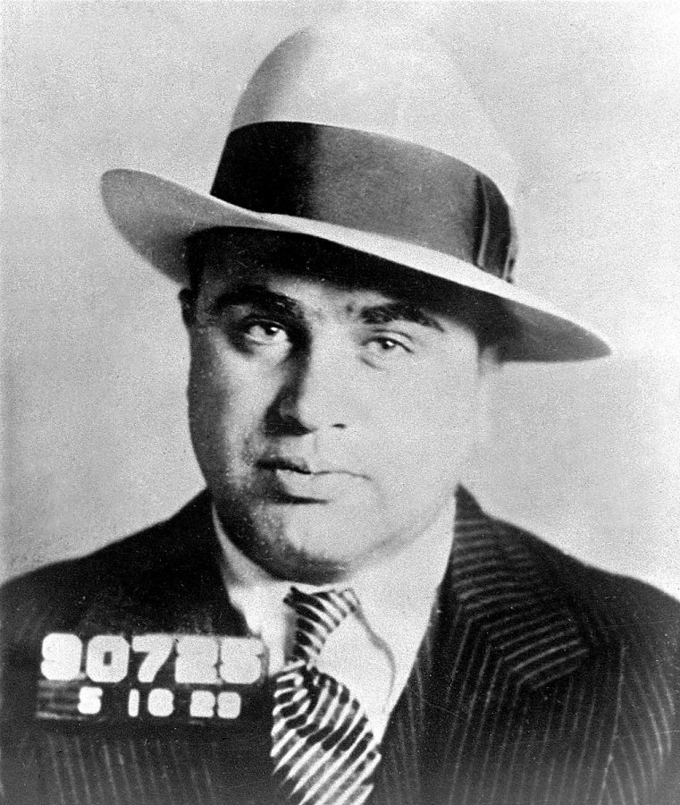 Al Capone's mugshot