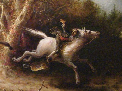Illustration from The Legend of Sleepy Hollow