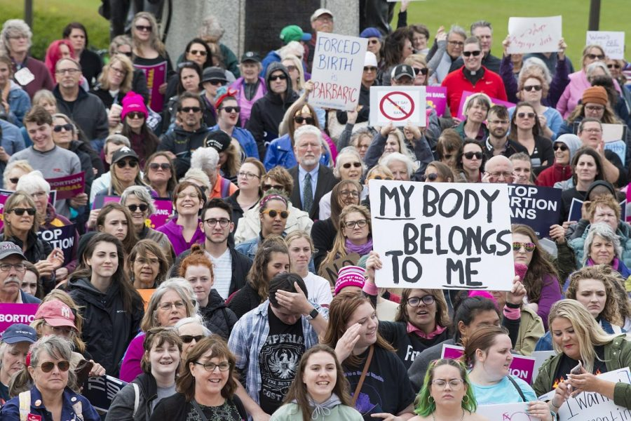 An abortion rights rally in St. Paul, Minnesota in 2019.