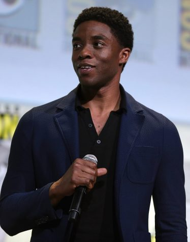Chadwick Boseman at a 2016 Comic-Con