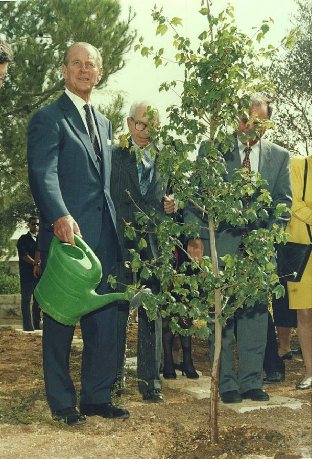 Prince Philip spreading environmental awareness in Israel