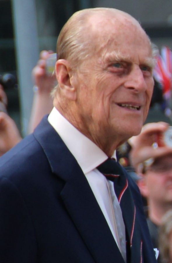 Prince Philip photographed in Berlin in 2015