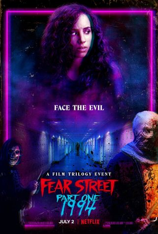 The movie poster for Fear Street Part One:1994
