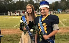 The 2021 Homecoming King and Queen were Paul Wood (right) and Grace Johnson (left).