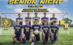 Del Val varsity soccer team honored its 10 seniors at Monday nights overtime victory over North Hunterdon.